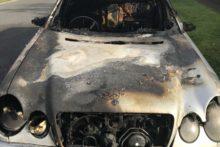 Mercedes-Benz destroyed