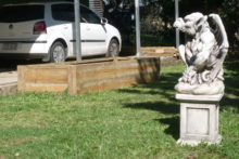 Travelling gargoyles stolen