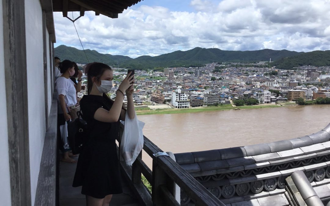 News from Rotary Exchange student in Japan