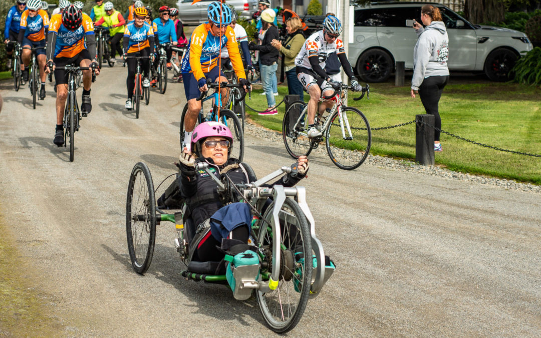 Cycling for spinal research