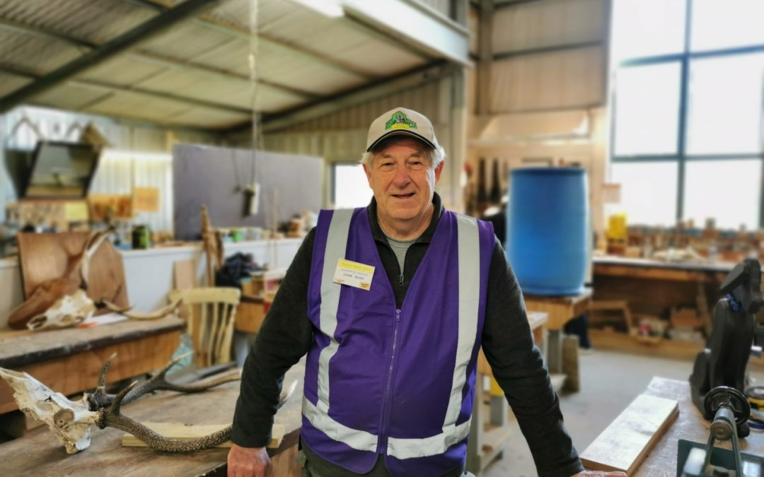 The industrious world of the Men's Shed