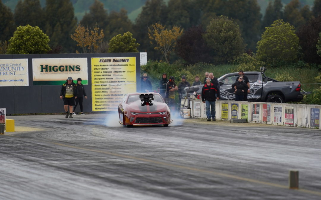 Pleasing turnout at dragstrip