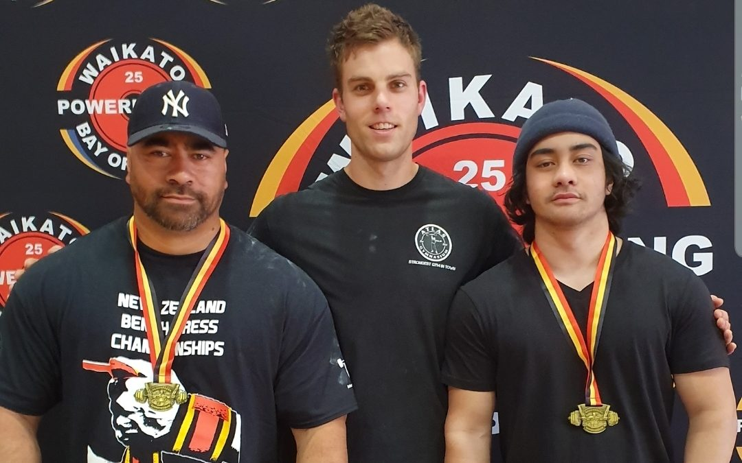 Father and son do national double