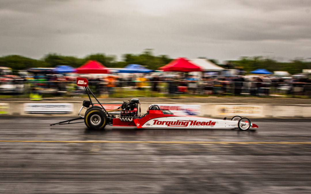Local drivers set new top times