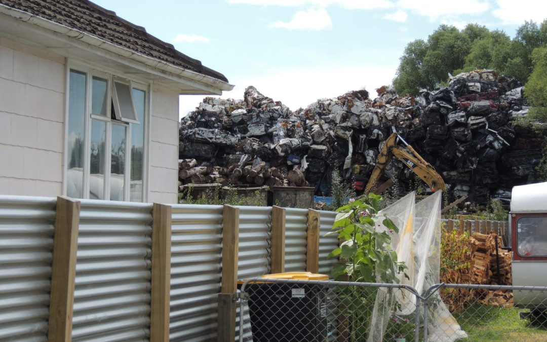Neighbours scrap over sound and smell