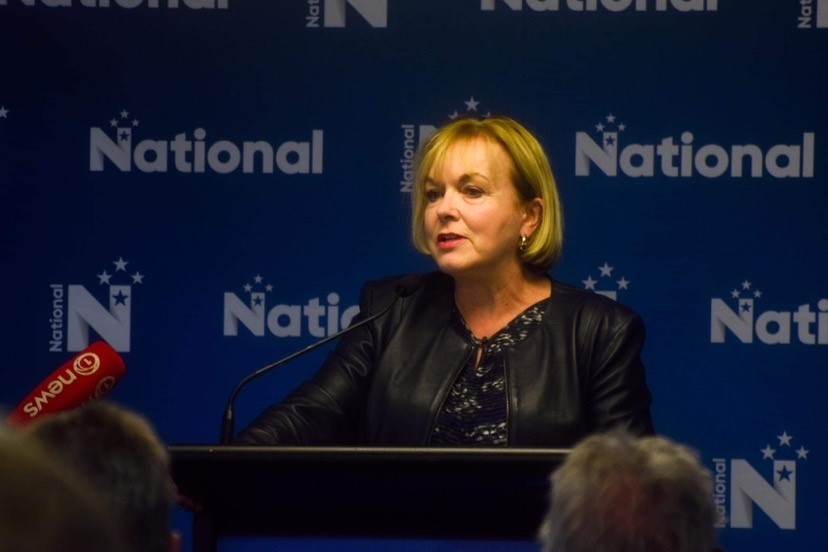 National won't 'stand to side' on climate action