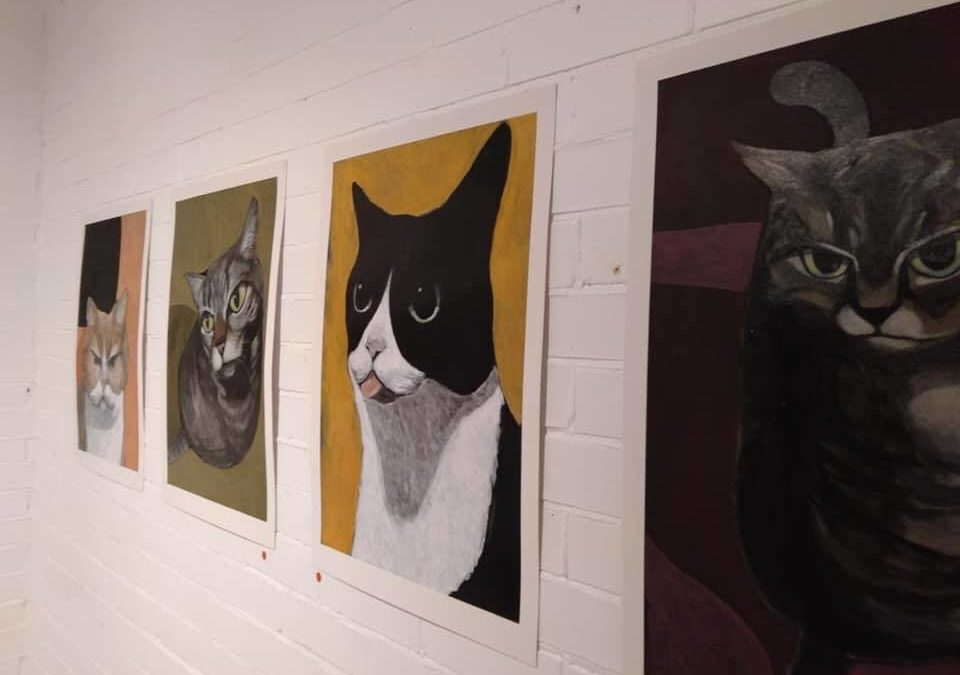Painting cats galore