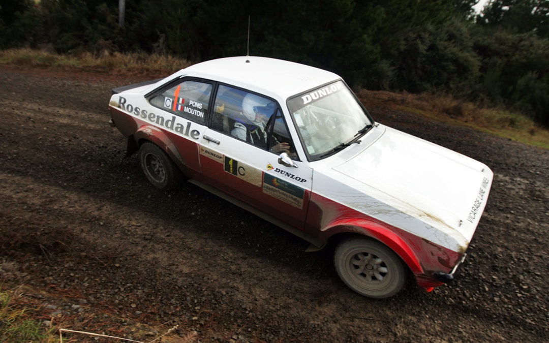 Rising star and veteran ready for Otago Rally