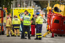 Child killed in collision