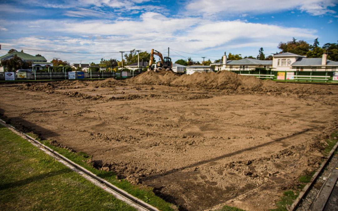 Work starts on artificial green for Masterton club