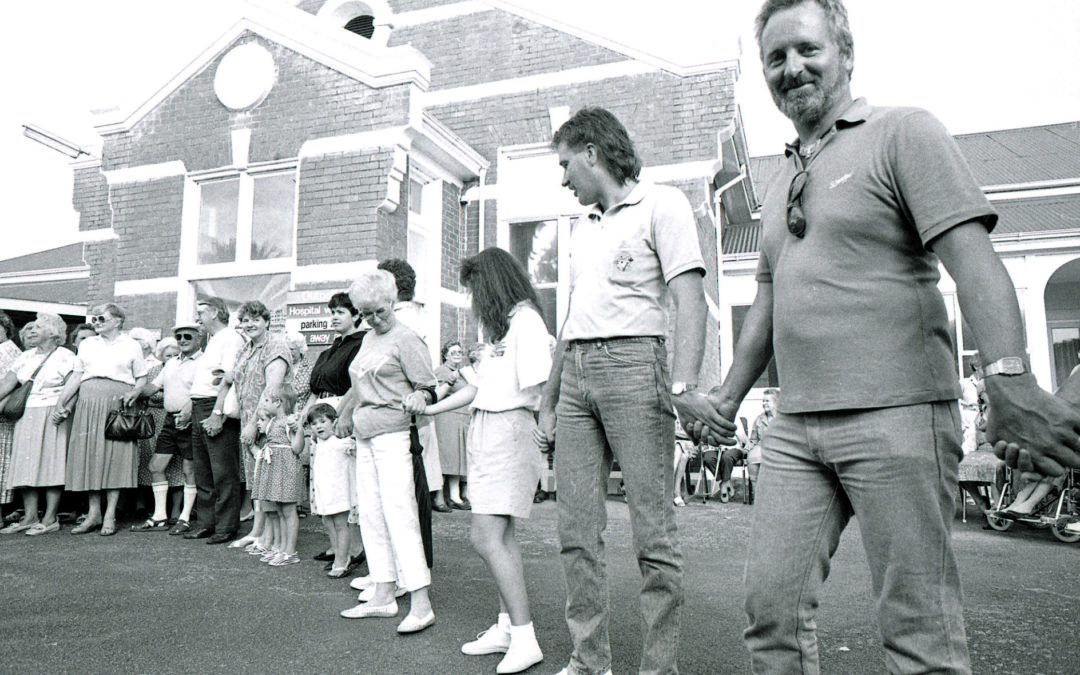 'Hands Around the Hospital' – 30 years on