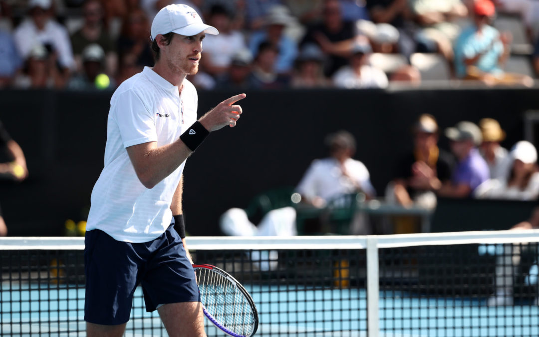 Daniell fumes at US Open exit
