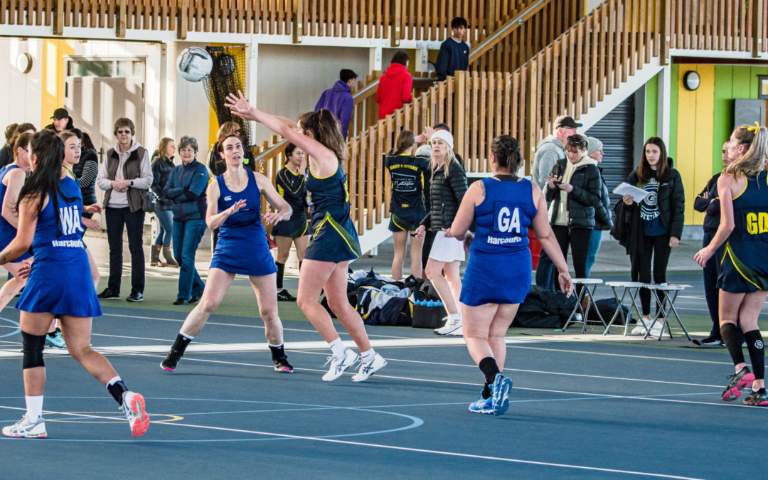 Netballers back for semifinals