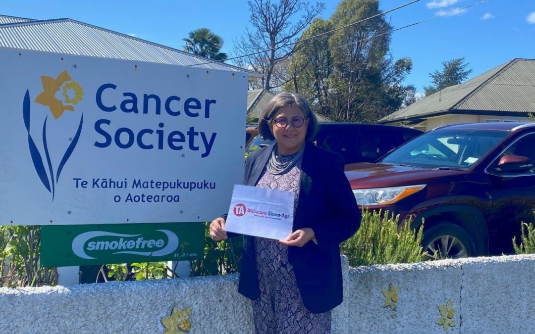 Businesses back Cancer Society