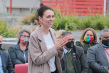 Ardern supports school vax clinic
