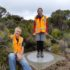 Plaque marking centre of NZ's territory installed